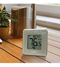La Crosse Technology® Indoor Temperature and Humidity Station - Silver