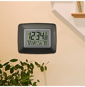 how to set time on la crosse technology