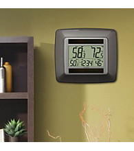 La Crosse Technology® Solar Digital Temperature Station - Brown