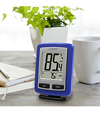 La Crosse Technology® Wireless Temperature Station - Black