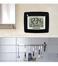 La Crosse Technology® Digital Timer Clock - Black