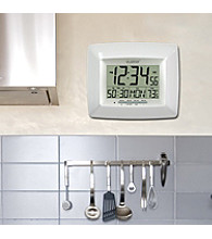 La Crosse Technology® Digital Timer Clock - White