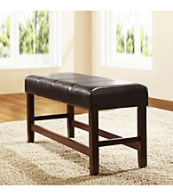 Home Interior Classic Dark Brown Bench