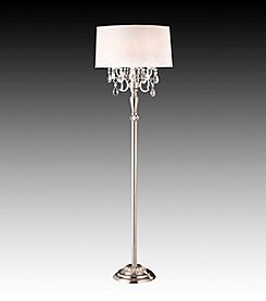 Home Interior Dreamlike Chrome Floor Lamp