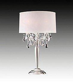 Home Interior Dreamlike Chrome Table Lamp