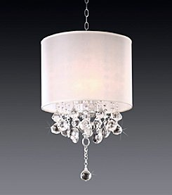 Home Interior Lively Ivory Chandelier
