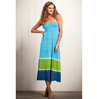 Convertible Dress on Product  Lucky Brand   Caribbean Crush Convertible Dress Coverup