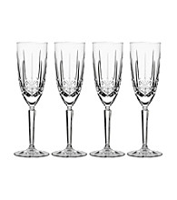 Marquis by Waterford® Sparkle Set of 4 Champagne Flutes