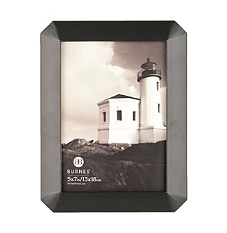 Burnes of Boston® Octagon Black Picture Frame Collection