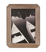 Burnes of Boston® Octagon Gray Wash Picture Frame Collection