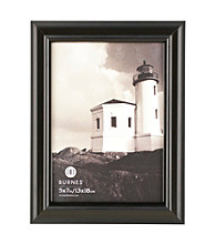 Burnes of Boston® Domed Distressed Black Picture Frame Collection
