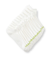 HUE® 6-pc. Mesh Top No Show Socks - White