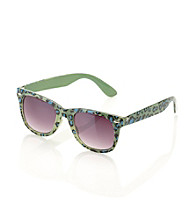 Icon Leopard Retro Sunglasses
