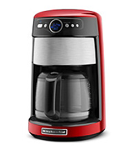 KitchenAid® 14-Cup Glass Carafe Red Coffeemaker