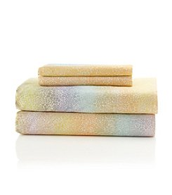 LivingQuarters Easy Care Ombré Floral Microfiber Sheet Sets