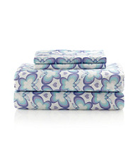 LivingQuarters Kids Easy Care Butterfly Microfiber Sheet Sets
