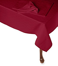 LivingQuarters Perfect Performance Microfiber Table Linens