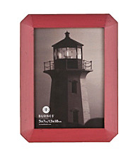 Burnes of Boston® Octagon Distressed Red Picture Frame Collection