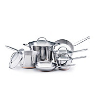 KitchenAid® Gourmet Distinctions 10-pc. Stainless Steel Cookware Set