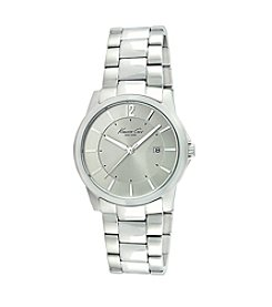Kenneth Cole New York® Men's Stainless Steel Round Case Watch