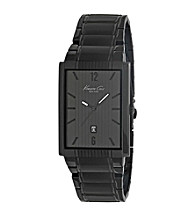 Kenneth Cole New York® Men's Black Stainless Steel Watch