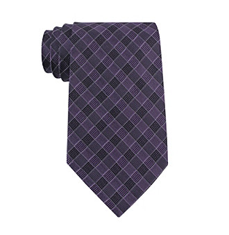 John Bartlett Statements Men's Checker Plaid Tie