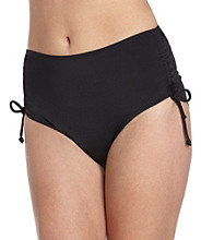 Caribbean Joe® Solids Adjustable Brief Swim Bottom