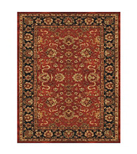 Abbey Collection Red/Navy Rug