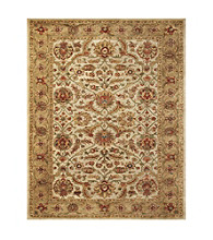 Abbey Collection Ivory/Light Gold Rug
