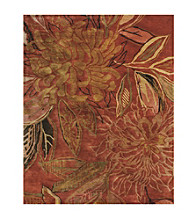 Adelie Collection Red Rug