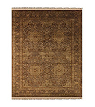 Alegra Collection Brown Rug