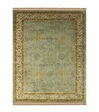 Alegra Collection Ocean/Beige Rug