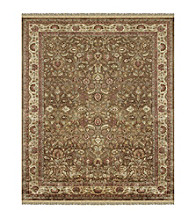 Alegra Collection Light Brown/Beige Rug