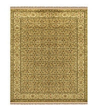 Alegra Collection Gold/Beige Rug