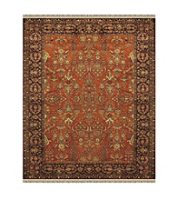 Alegra Collection Cinnamon/Plum Rug
