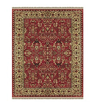 Alegra Collection Red/Light Gold Rug