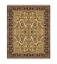 Alegra Collection Gold/Black Rug