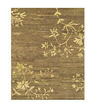 Aven Collection Brown Rug