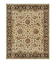 Dover Collection Ivory/Brown Rug