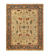 Hunter Collection Camel/Black Rug