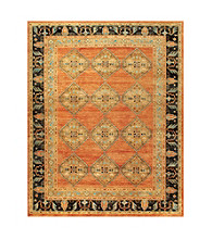 Hunter Collection Rust/Charcoal Rug
