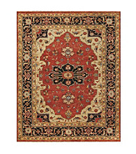 Hunter Collection Red/Black Rug