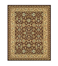 Valencia Collection Chocolate/Latte Rug