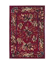 Valencia Collection Red Rug