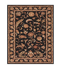 Wakefield Collection Black Rug