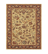 Wakefield Collection Ivory/Red Rug