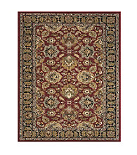 Wakefield Collection Red/Black Rug