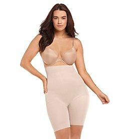 Naomi & Nicole® Plus Size Hi-Waist Thigh Slimmer