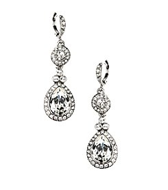 Givenchy® Wingate Swarovski® Crystal Teardrop Earrings