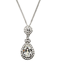 Givenchy® Wingate Swarovski® Crystal Pendant Necklace